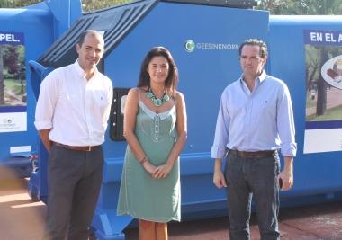Mancomunidad recicla 4.320 toneladas de papel y cartón en los primeros ocho meses del año