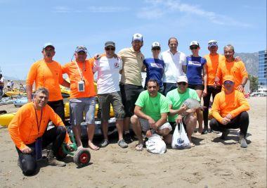 Participación masiva en las jornadas de pesca y kayak en los primeros días de Solmarina