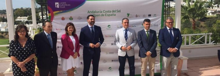 El Andalucía Costa del Sol Open de España Femenino, gran apuesta por el golf, el espectáculo y el turismo.