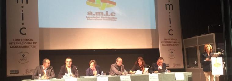 Margarita del Cid, ponente en la Conferencia Internacional de Mancomunidades