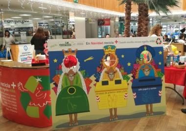 La Mancomunidad pone en marcha una novedosa campaña para fomentar el reciclaje en Navidad