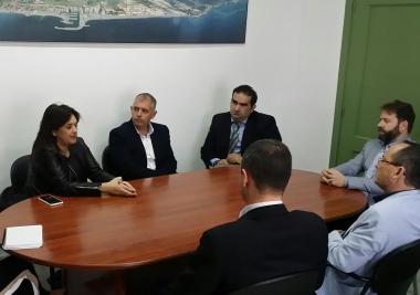 Mancomunidad y ayuntamiento tratan importantes asuntos para el municipio