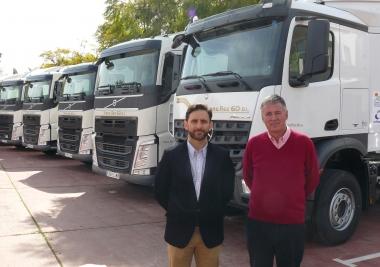 La Mancomunidad incorpora seis cabezas tractoras de última tecnología al transporte de residuos