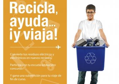 La Mancomunidad inicia una campaña para el reciclaje de aparatos electrónicos en el ámbito doméstico