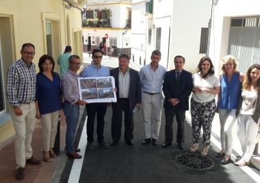 La Mancomunidad invierte en Benalmádena 135.000 euros en la adecuación de una calle
