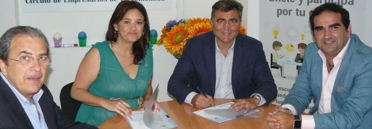 Acosol y el CET de Torremolinos inician la colaboración para dinamizar el empleo en el municipio a través de las Pymes