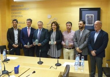 """Marbella, Estepona y Torremolinos ganan los premios """"iglú verde"""" que otorga Ecovidrio"""