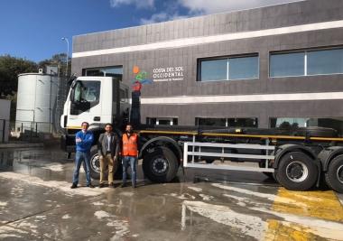 La Mancomunidad invierte casi 700.000 euros en maquinaria para el Complejo Medioambiental de Casares