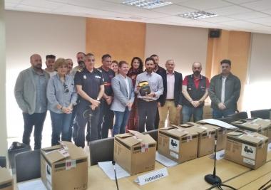 La Mancomunidad entrega 14 equipos desfibriladores para instalar en 7 localidades que participaron en el Programa de Cardioprotección