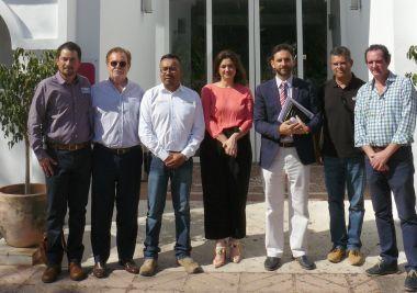 Gestores de residuos de México se interesan por el modelo de gestión que realiza la Mancomunidad