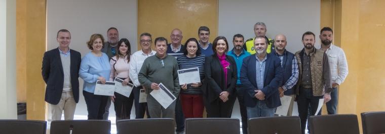 La Mancomunidad entrega los títulos de los cursos avalados por la Universidad de Málaga