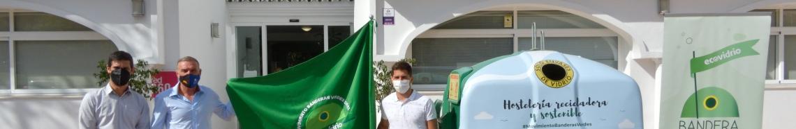"""Mancomunidad y Ecovidrio presentan la campaña de verano """"Banderas Verdes"""""""